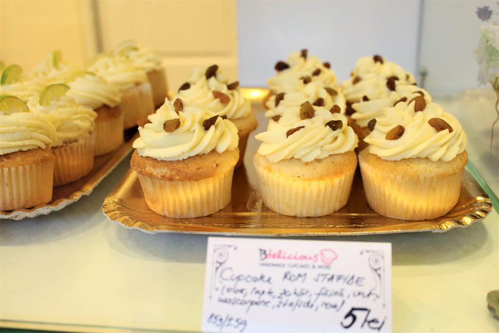 ヨーロッパ東欧ルーマニア旅行でカップケーキ