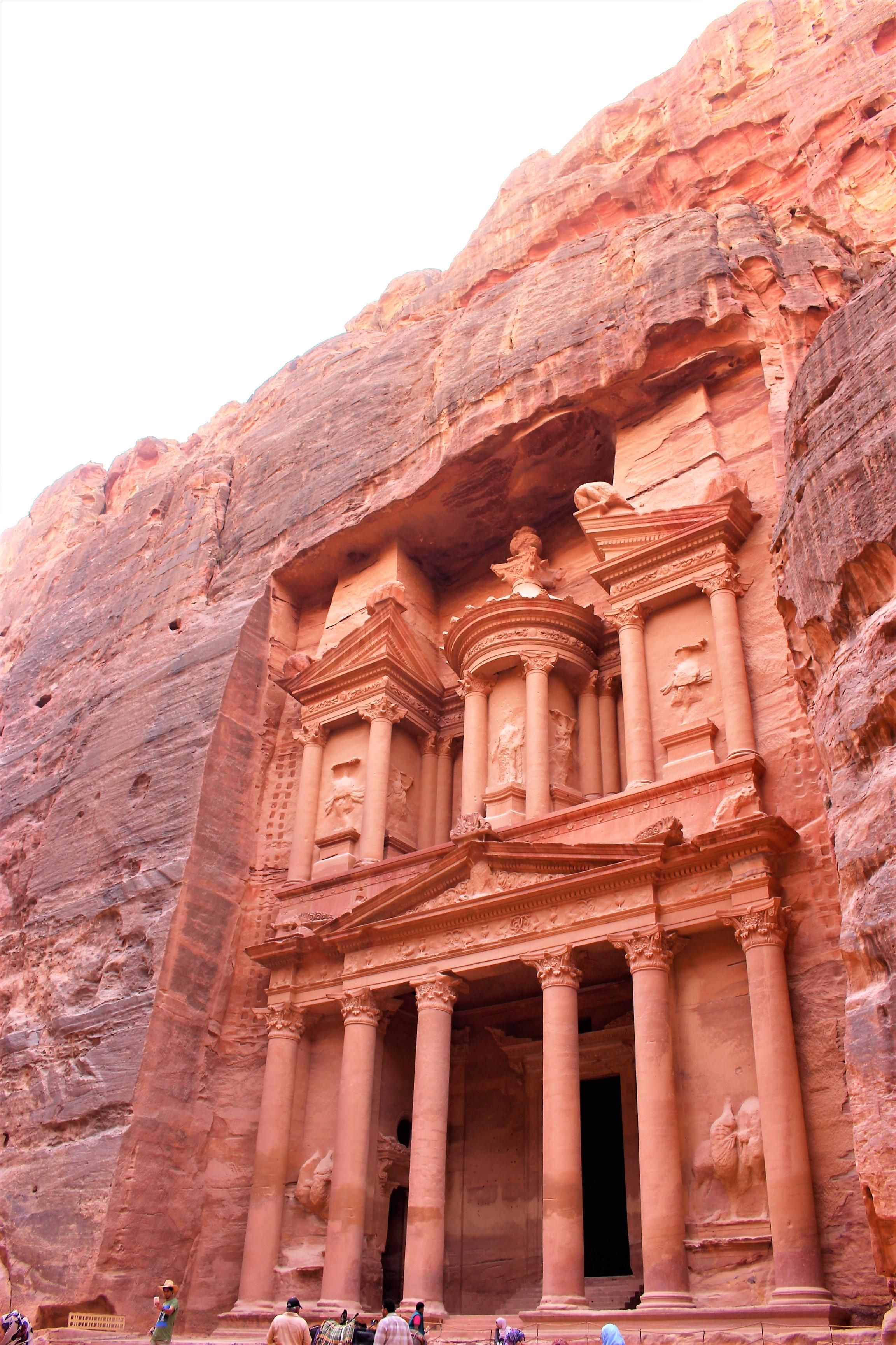 中東ヨルダン旅行インディージョーンズペトラ遺跡