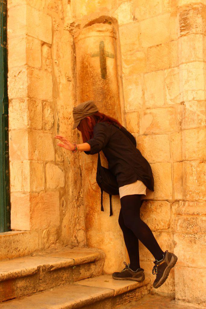 イスラエル旅行エルサレムイエスが躓いた所