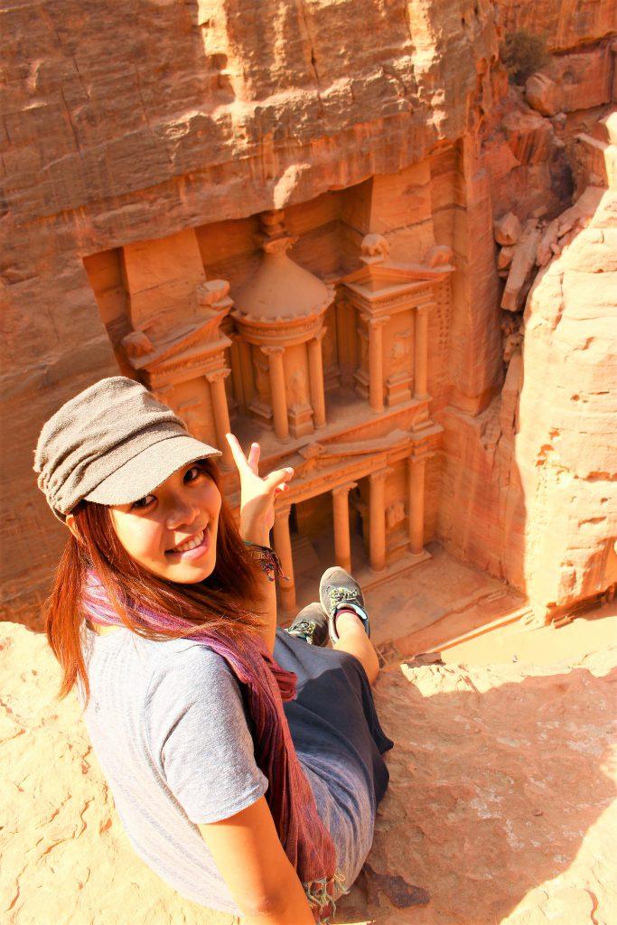 世界一周女子一人旅ヨルダンペトラ遺跡