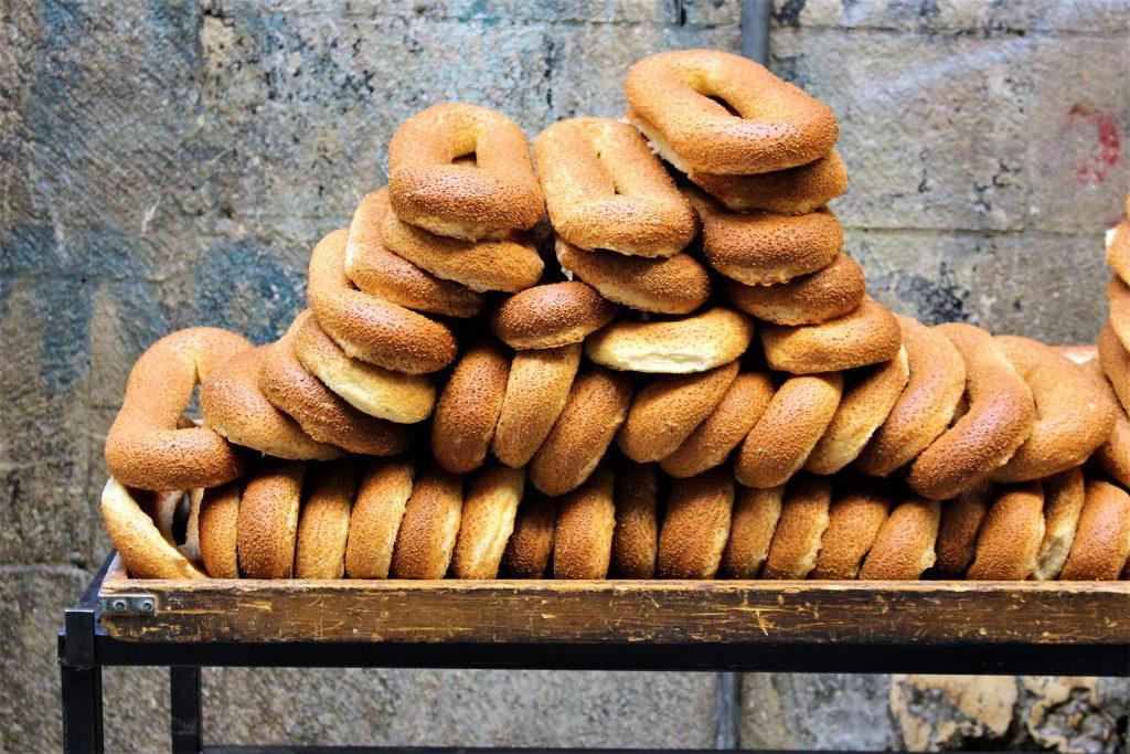 中東イスラエル旅行美味しいご飯パン