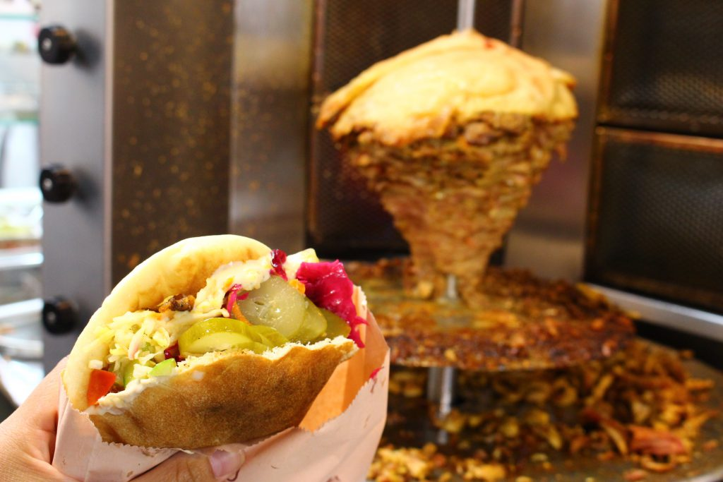 中東イスラエル旅行美味しいご飯ケバブ