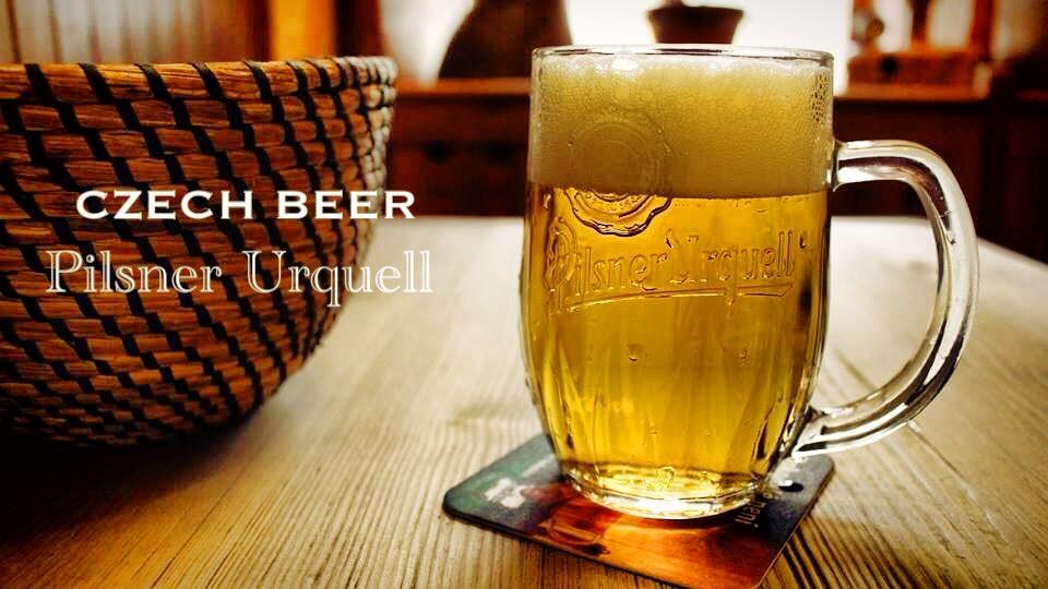 ヨーロッパ旅行チェコのビールが安くて美味しい