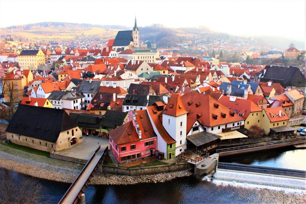チェコの世界一美しい街チェスキークルムロフが綺麗すぎる