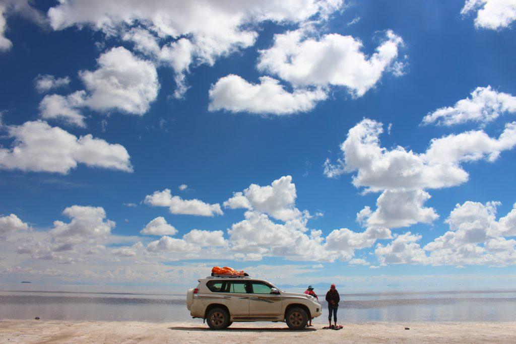 ウユニ村からウユニ塩湖までの移動手段