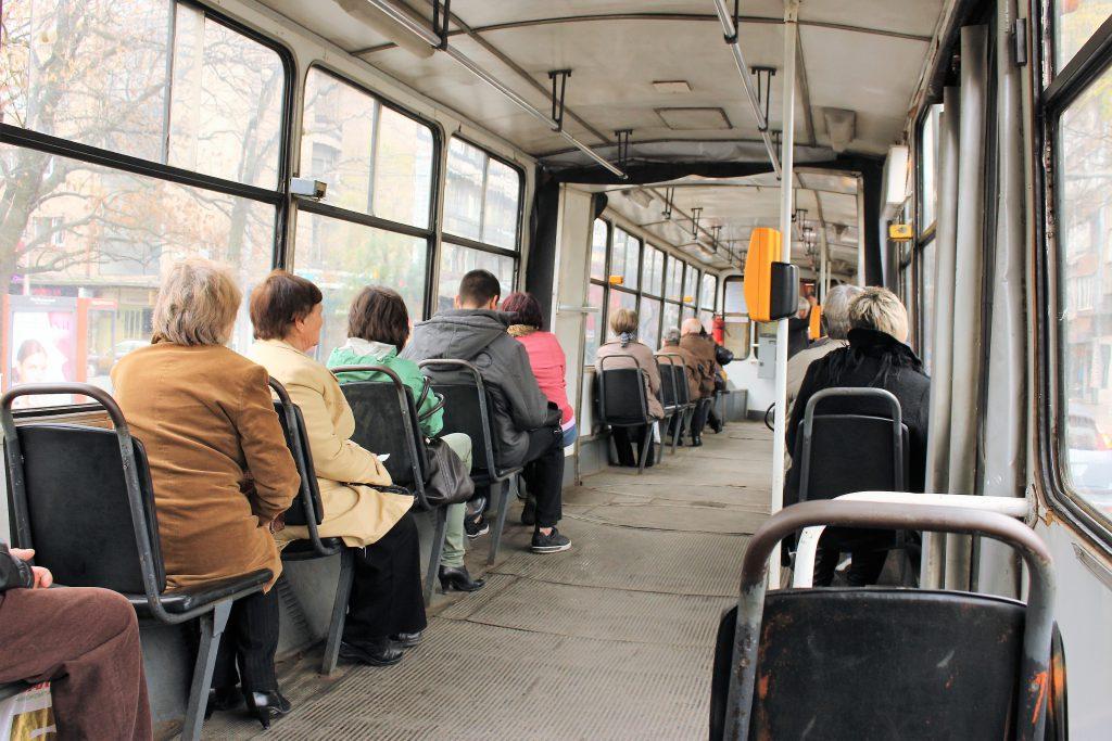 東欧ブルガリア旅行トラムの乗り方