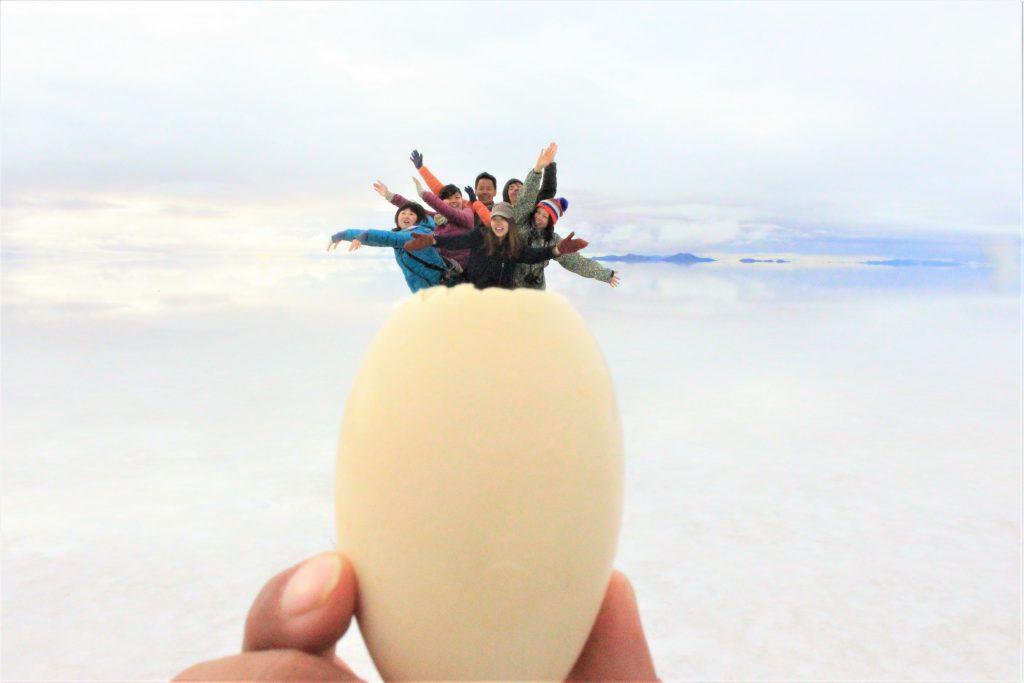世界一周おもしろ絶景写真ボリビアウユニ塩湖