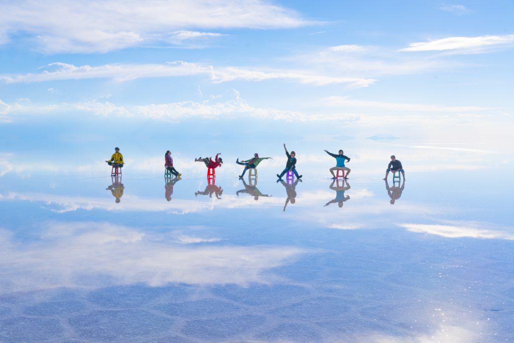 素敵な海外旅行絶景ウユニ塩湖