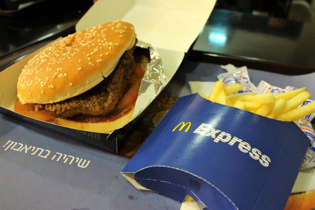 イスラエル旅行ビッグマックが高すぎる
