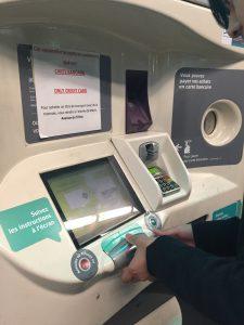 パリ地下鉄メトロ切符券売機とチケットの買い方