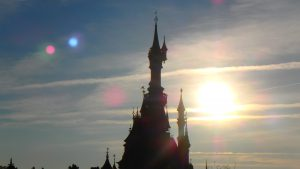 ディズニーランドパリのお城が可愛い!フランス旅行