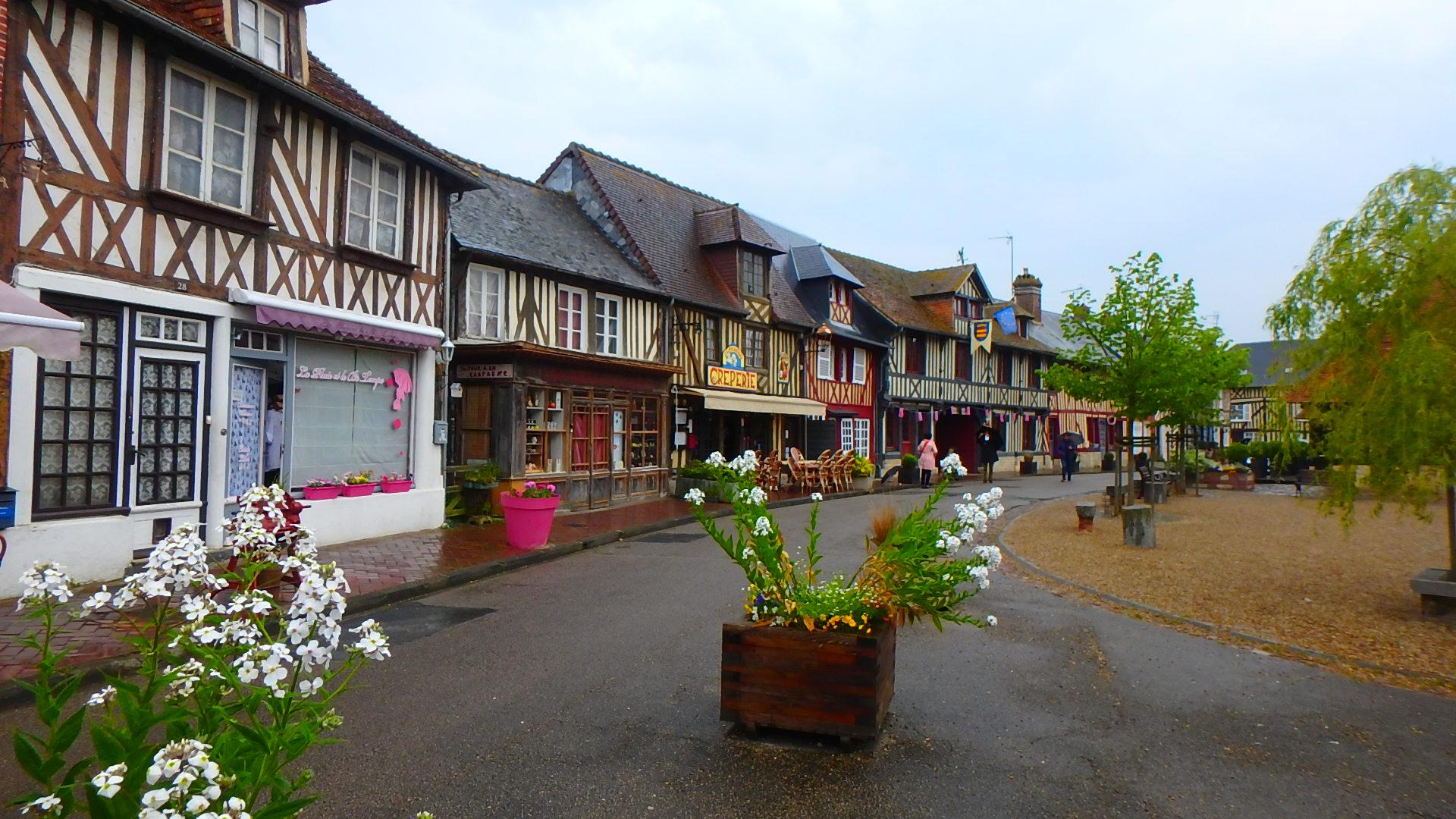 フランスで最も美しい村ブブロン村