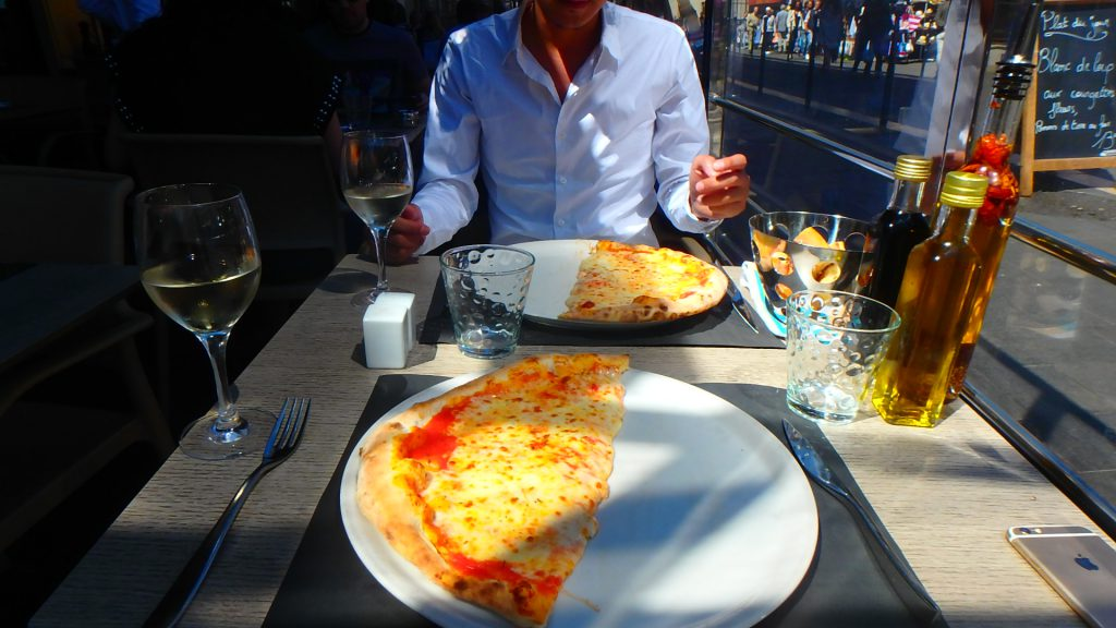 フランスニースでおすすめの美味しいイタリアンレストランピザ