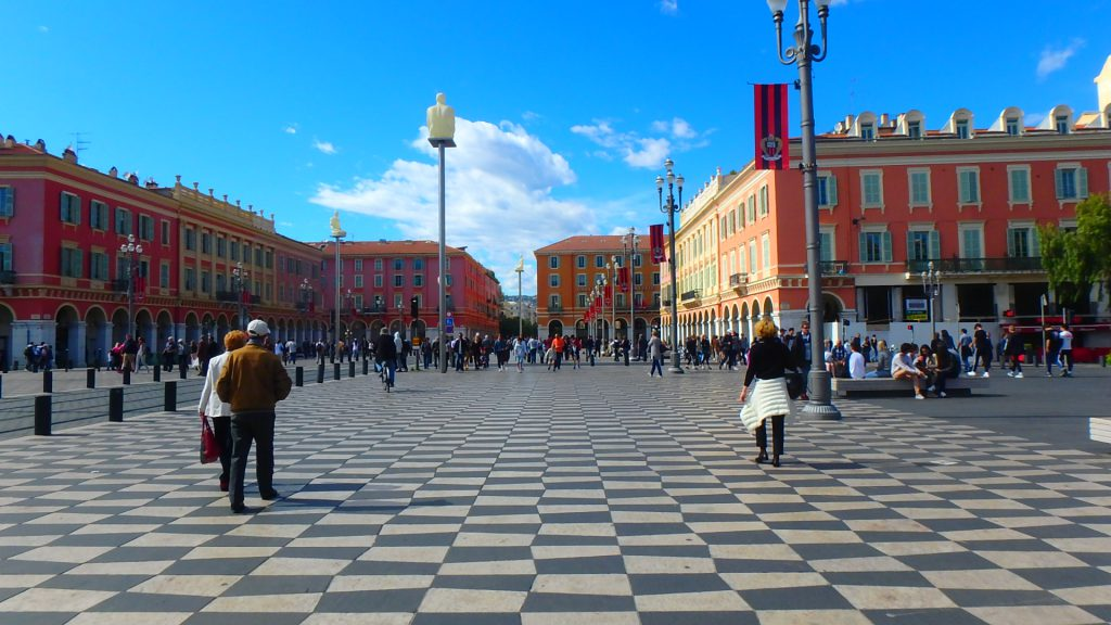 フランスニースマセナ広場(Place Masséna à Nice)