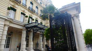 フランスパリのパラスラグジュアリーホテルシャングリラパリ
