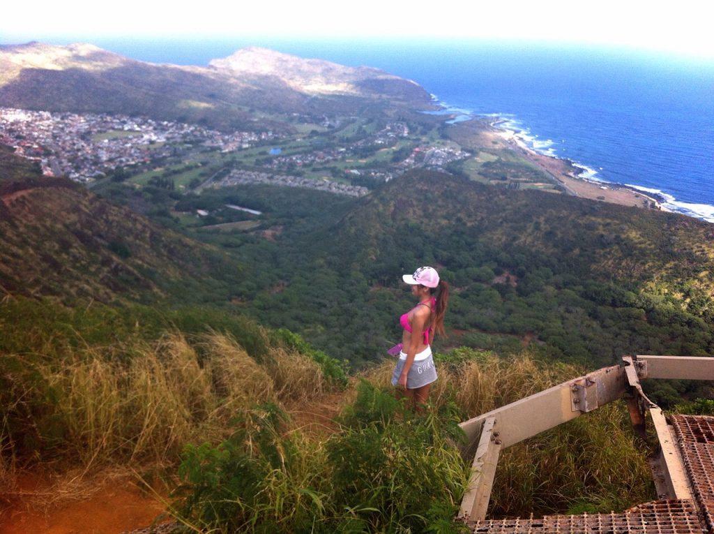 ハワイのおすすめ絶景ハイキングココヘッドkokohead頂上