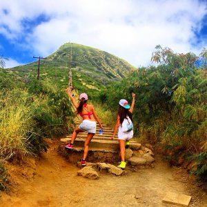 ハワイ旅行での服装 女性 トレーニングウェア
