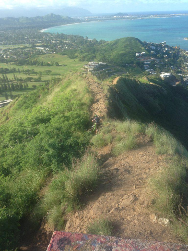 ハワイ絶景おすすめトレッキングラニカイピルボックス