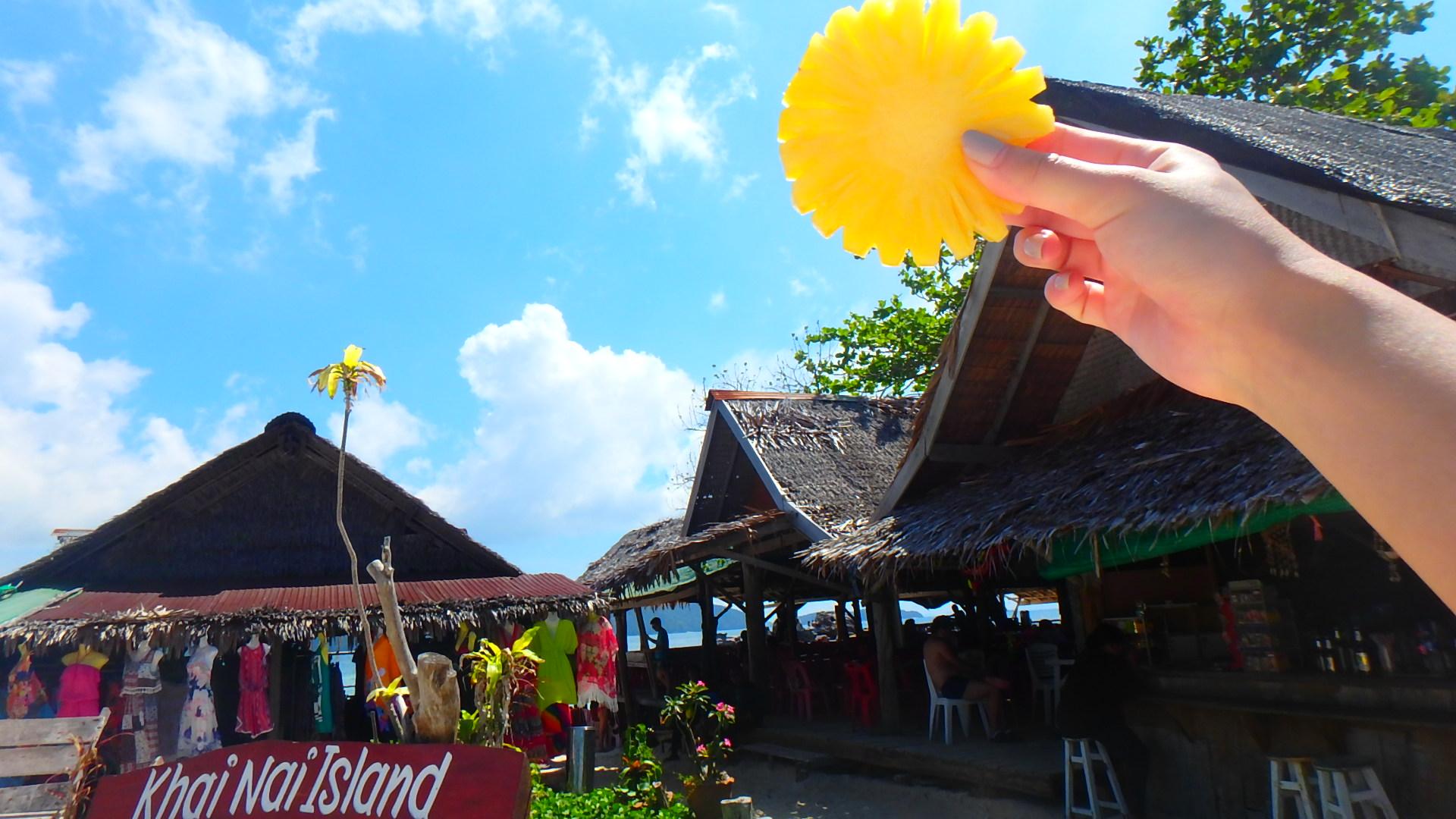 タイプーケットの無人島カイナイ島Khai Nai Island