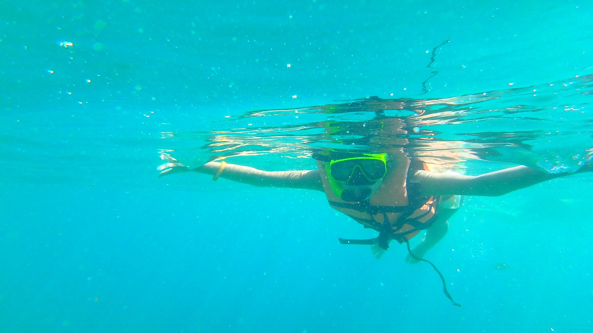 ピピ島海の透明度ピピレイ