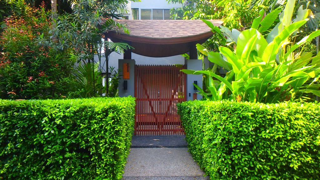 プーケットホテルカリマリゾートkalimaresort部屋の入口