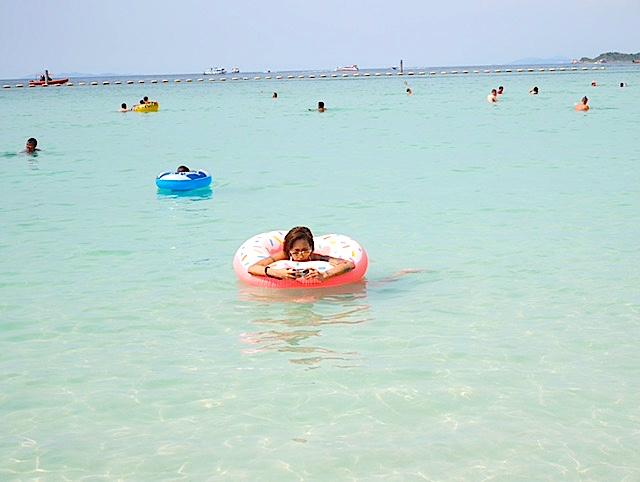 タイラン島現地人がおすすめする綺麗なビーチ