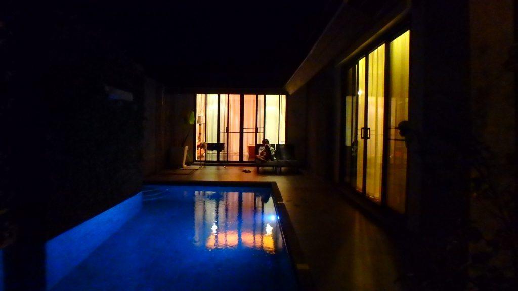 プーケットのホテルThe kiri villas resortは全室プライベートプール付き
