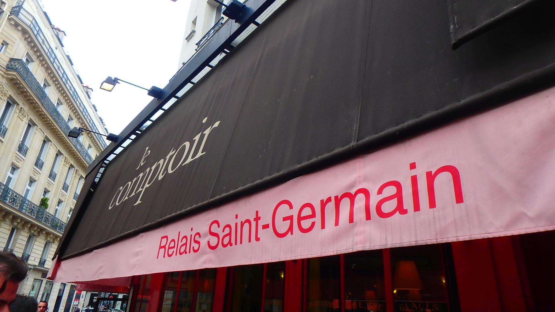 パリの人気ビストロLe Comptoir (ル コントワール)外観