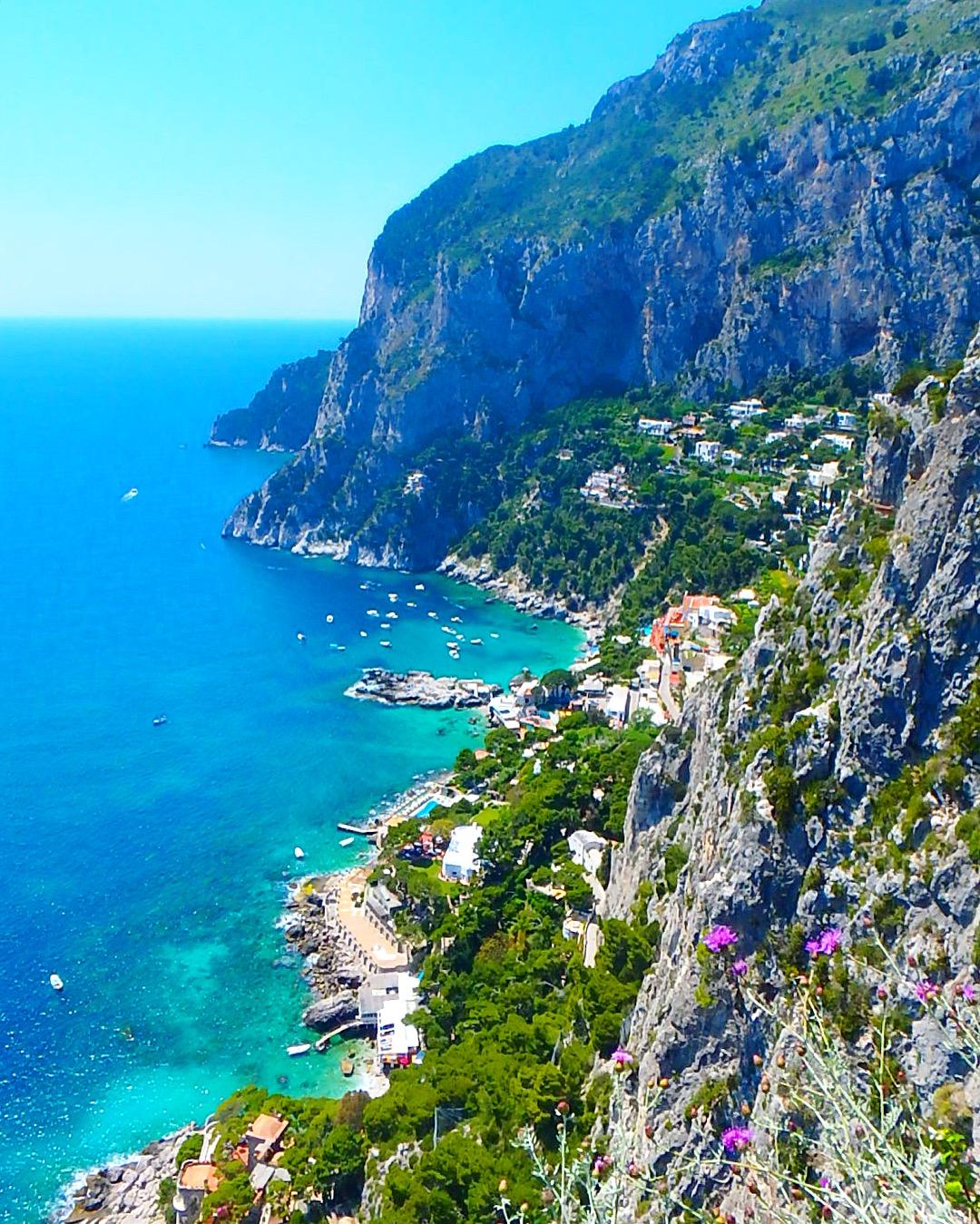 イタリアカプリ島展望台からの絶景は絶対に行くべき