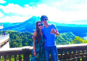 バリ島世界遺産の絶景バトゥール湖自然遺産カップル旅