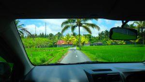 バリ島ウブドテガララン観光ドライブ