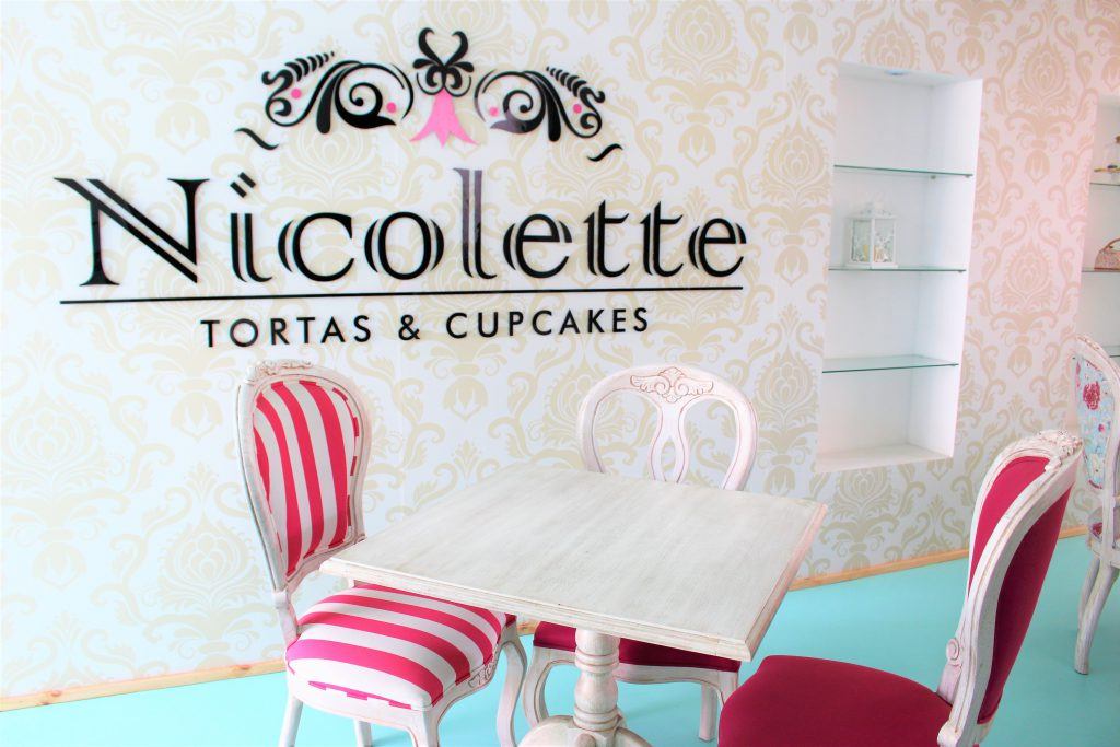 コロンビアメデジンのカップケーキ屋さんNicolette