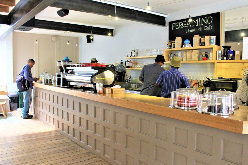 コロンビアメデジンのおすすめカフェPergaminoCafe