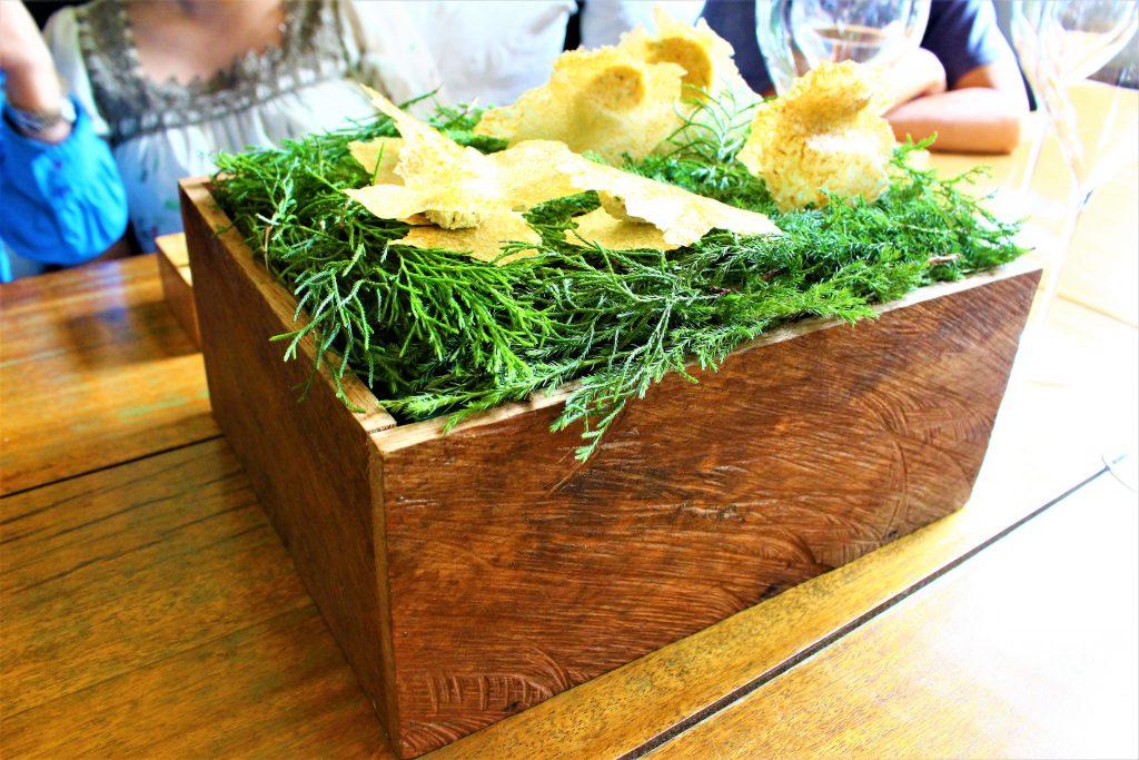 コロンビア レストラン El Cielo 前菜のスナック