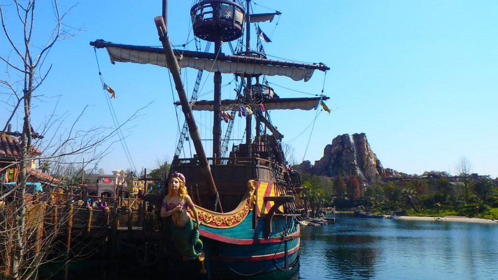 海外ディズニー カリブの海賊