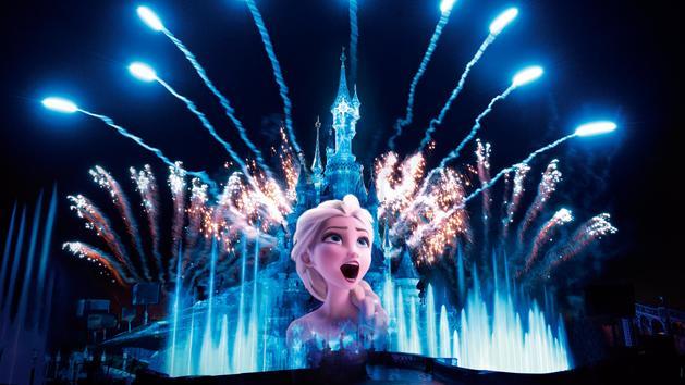ディズニーランドパリ 25周年バージョン 夜のショー