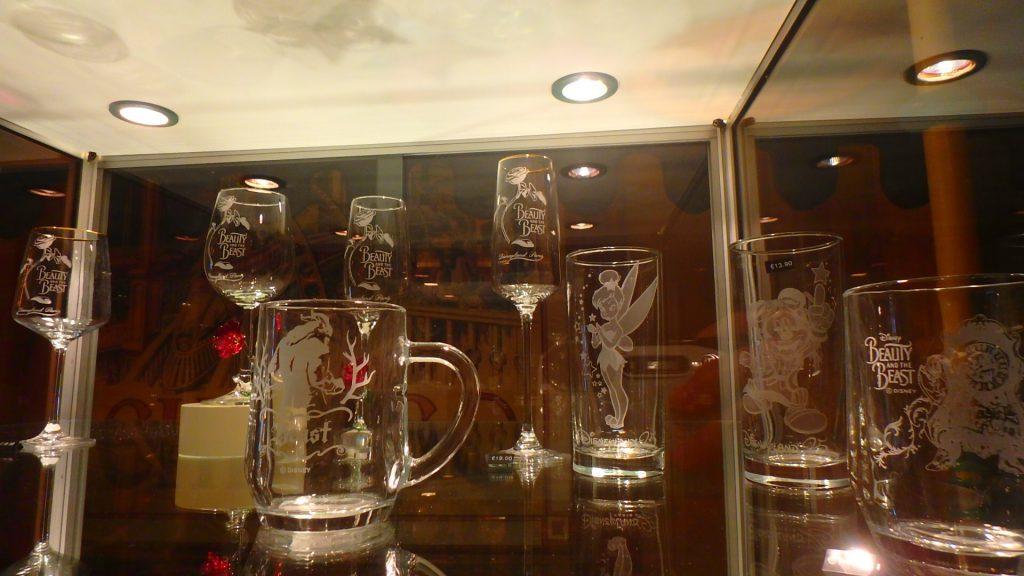ディズニーランドパリ ガラス製品お土産