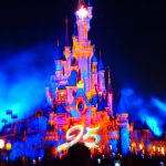 ディズニーランドパリ 夜のショー&花火《日本人におすすめの観覧場所》25周年