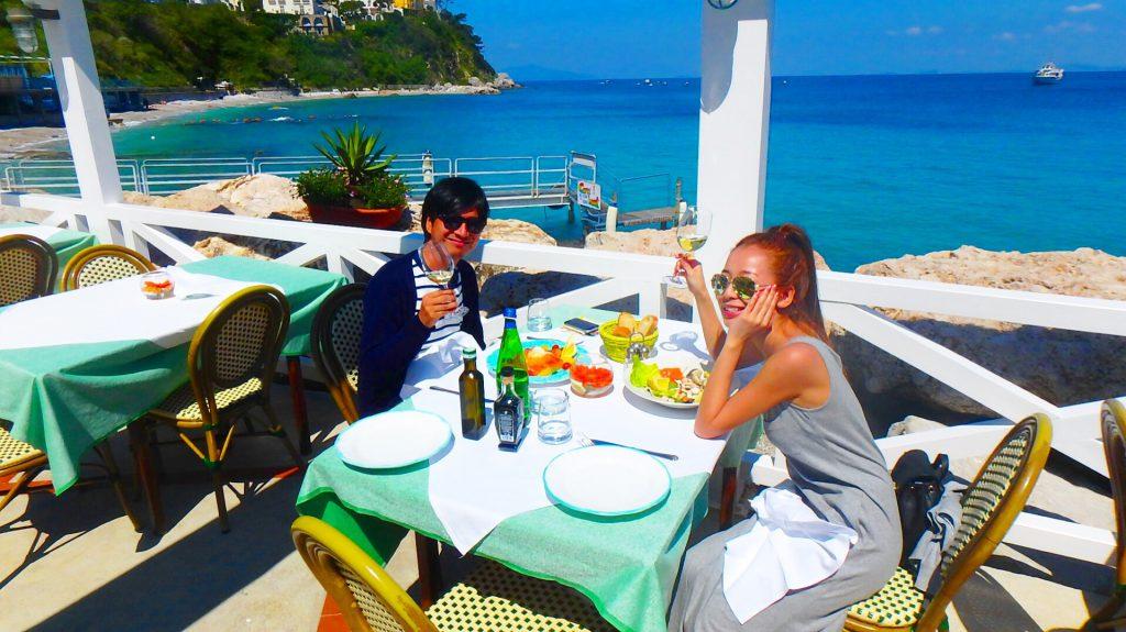 海外の海沿い絶景レストラン&Bar イタリアのカプリ島