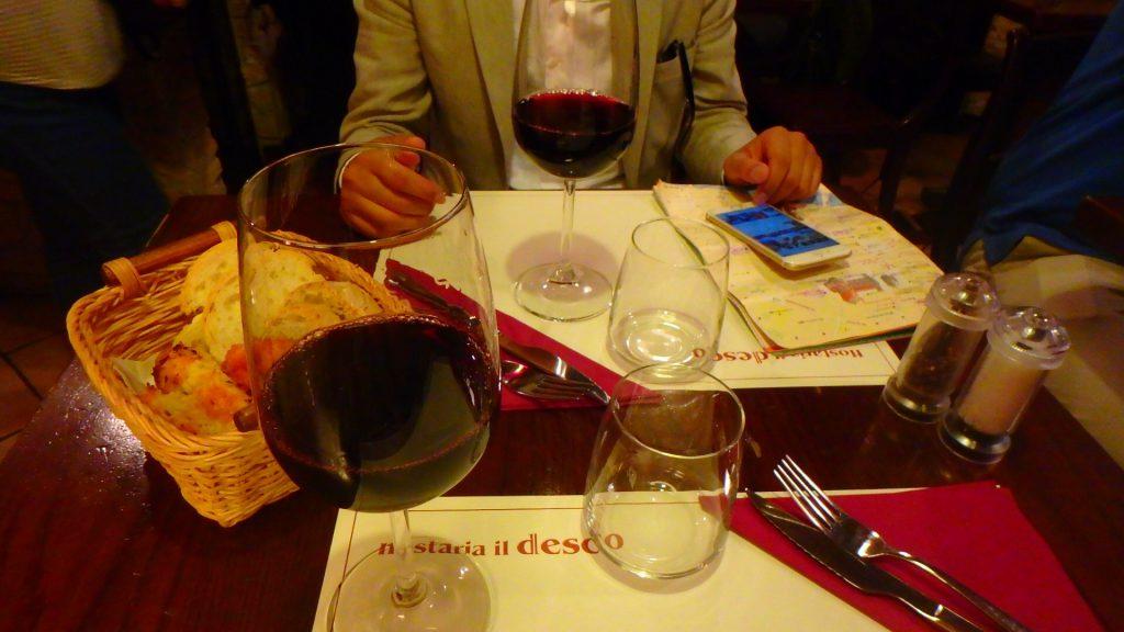 フィレンツェ 一番美味しいランチとワイン