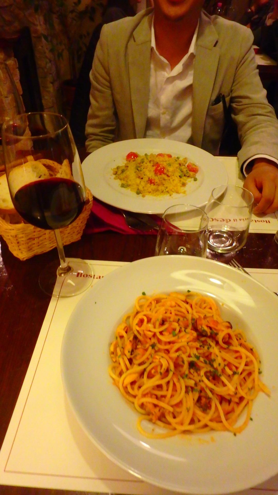 フィレンツェ 本当に美味しいパスタ屋さんでの珍事件