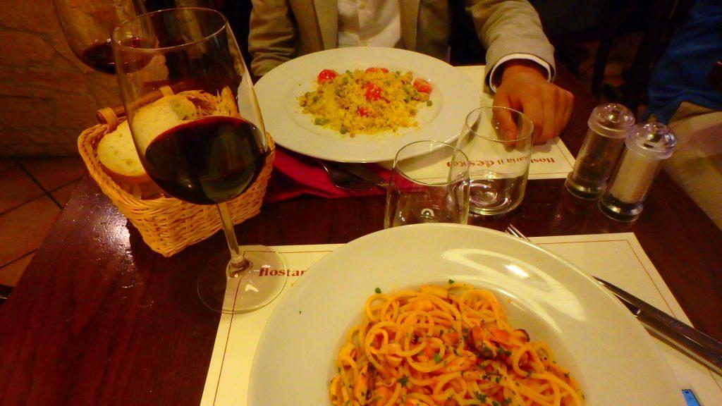 フィレンツェ 本当に美味しいパスタ
