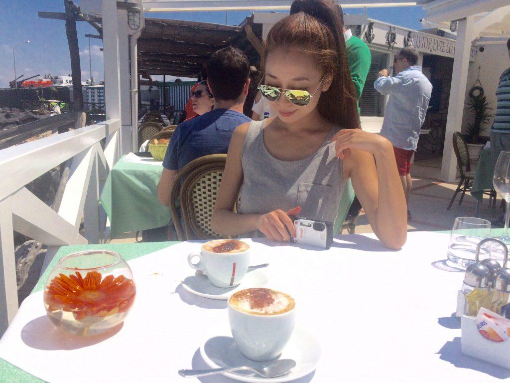 カプリ島海の目の前にあるお洒落な絶景カフェ&レストラン