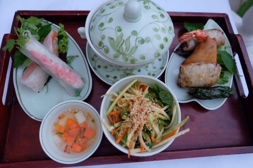 ベトナム ハノイ ソフィテルメトロポールホテルのディナー