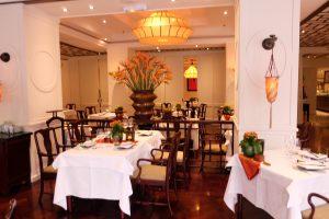 ベトナム ハノイ ソフィテルメトロポールホテルのレストラン