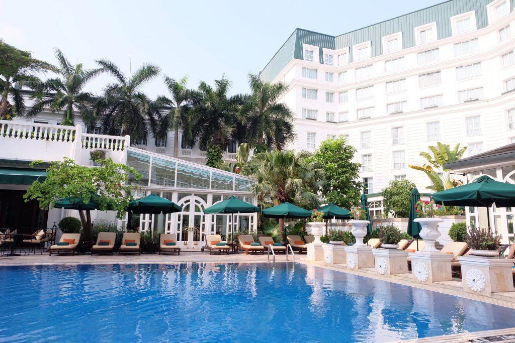 ベトナム ハノイ Sofitel Legend Metropole Hanoiのプール