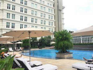 ベトナム Park Hyatt Saigon(パークハイアット)プール