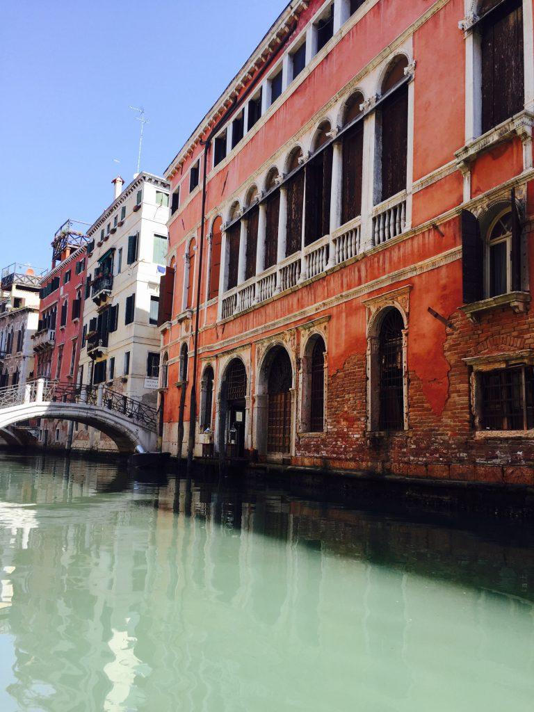 イタリアベネチアの歴史ある風景