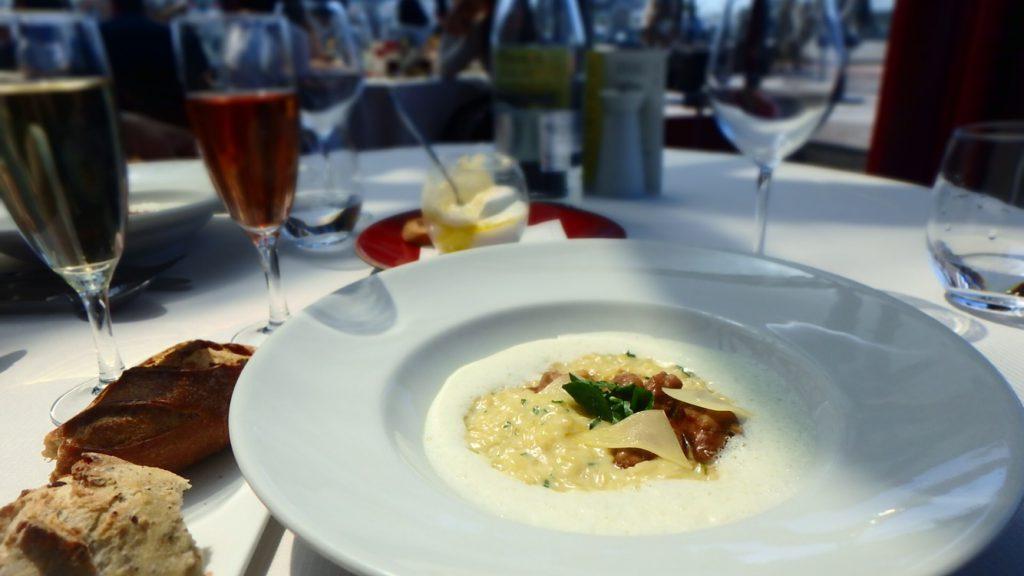 パリ リゾットが美味しい レストラン ランチ