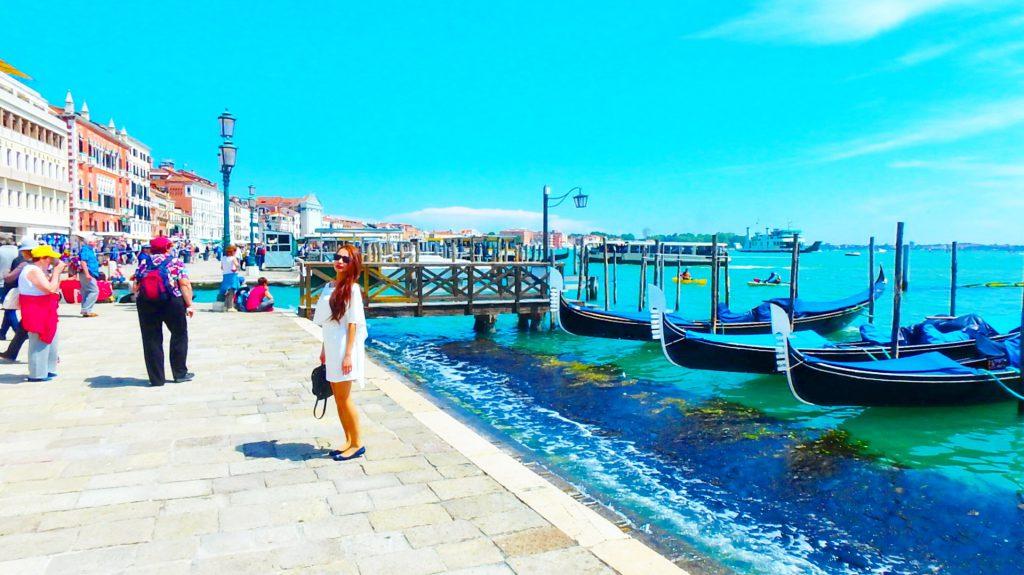 海外旅行の服装 イタリア ベネチア 女性